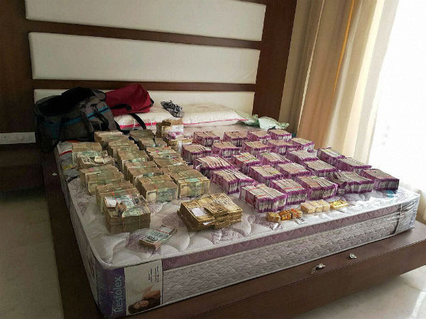 Rs 4.7 crore cash in new currency