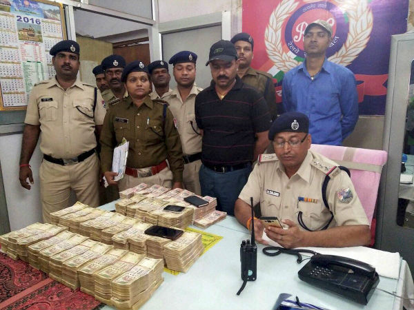 More than one crore recovered near Patna