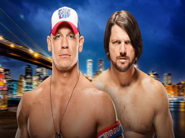John Cena and AJ Styles (Image courtesy: wwe.com)