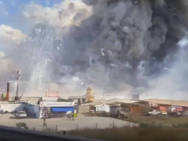 29 dead in Mexico firecracker explosion