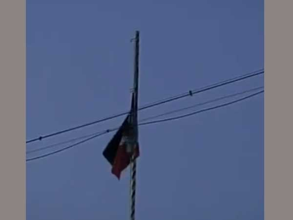 AIADMK lowers then raisas flag amidst Jaya death rumours
