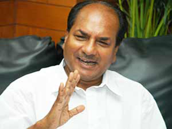 Agusta deal: Nothing to hide, Antony