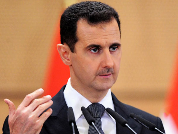 History being written: Assad