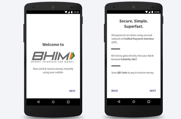 BHIM App offers Cashback Up to Rs. 750