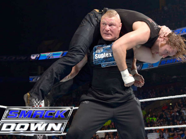 Brock Lesnar suspended (image courtesy Youtube)