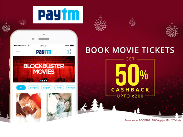 Dangal Movie Tickets Now at 50% cashback