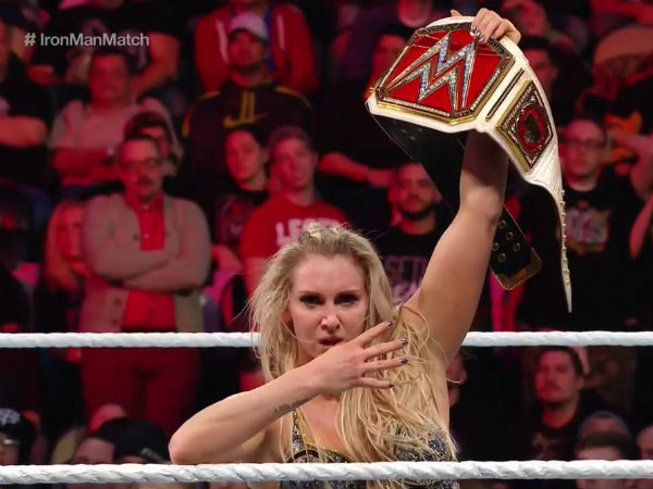 Charlotte, the Queen of the Women's division (image courtesy Twitter)