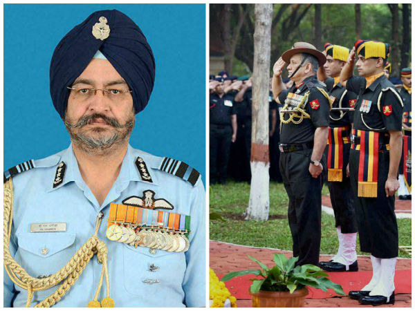 New Army, IAF chiefs take over