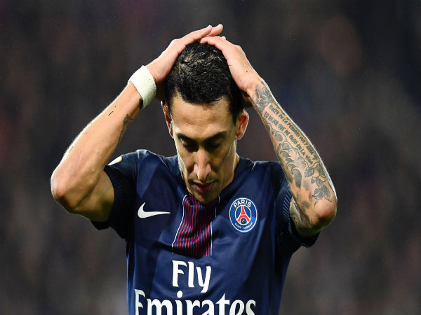 Angel Di Maria (Image courtesy: PSG Twitter handle)
