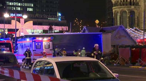 US condemns attack on Christmas market