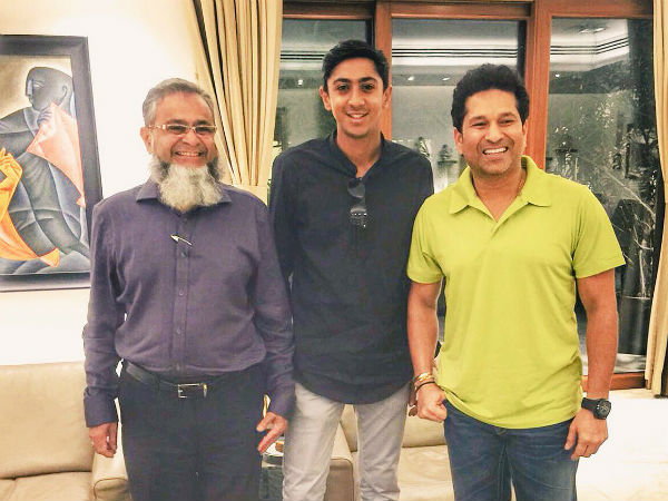 When Haseeb Hameed met his childhood inspiration Sachin Tendulkar