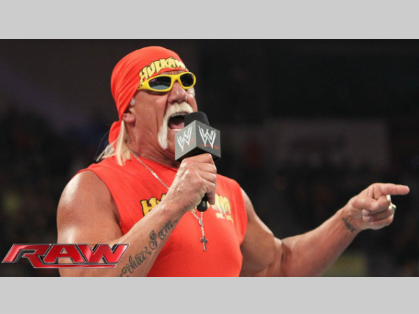 Hulk Hogan on Raw (image courtesy Youtube)