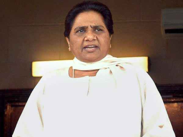 Mayawati hits out at PM Modi