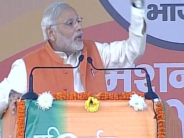 The people are my high command: Modi