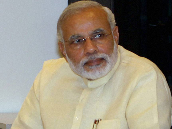 I saved the country: Modi