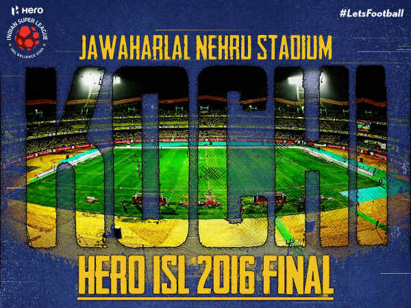 Jawaharlal Nehru Stadium (Image courtesy: ISL Twitter handle)