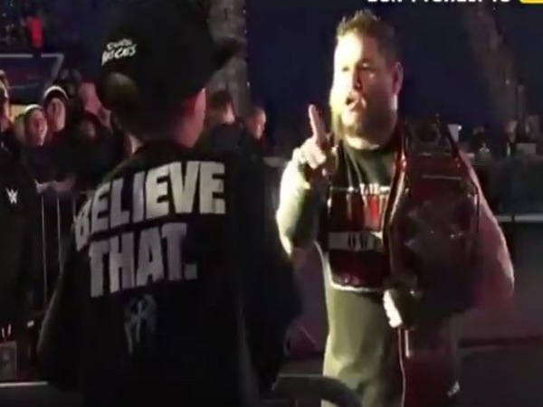 Kevin Owens (right) (Image courtesy: Youtube)