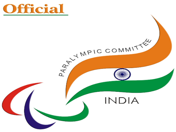Paralympic India official logo (Image courtesy: Paralympic India Twitter handle)