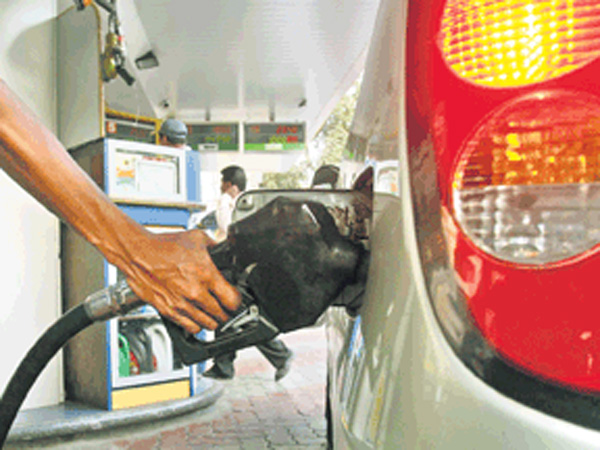 Petrol hiked by Rs 2.21/litre