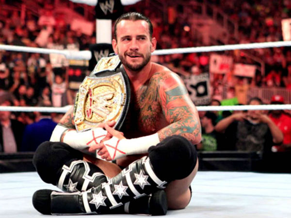 CM Punk (image courtesy WWE)