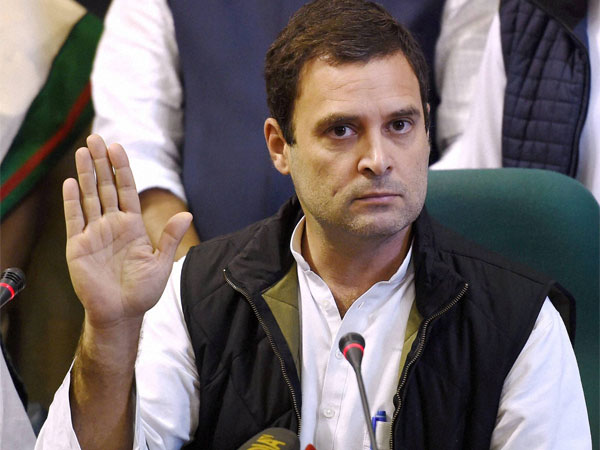 Rahul Gandhi demands removal of weekly withdrawal limit