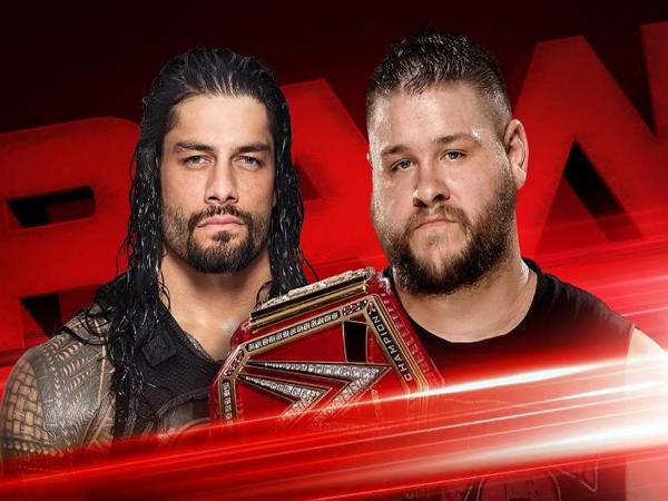 Kevin Owens Vs Roman Reigns meets final time before Roadblock (Image courtesy WWE Twitter)