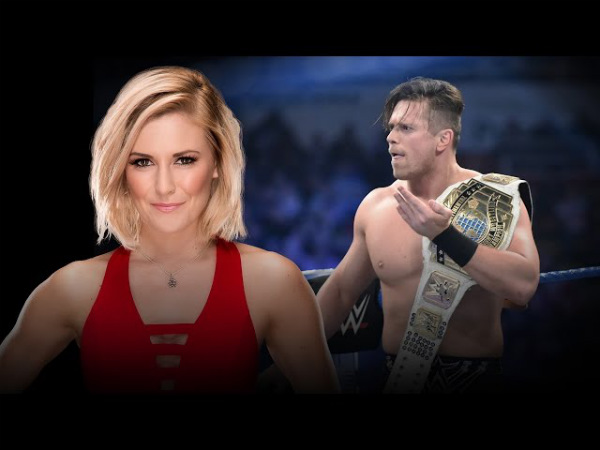 Renee Young (left) and The Miz (Image courtesy: Youtube)