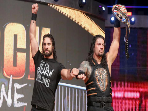 Reigns and Rollins reunited after Raw (Image courtesy: wwe.com)