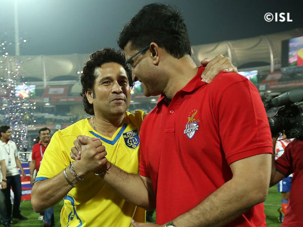 It's Sachin Vs Ganguly in final: Twitterati react after Kerala set up epic ISL clash with Kolkata