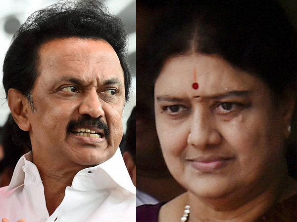 Stalin: Decision to make Sasikala CM, against people's wish