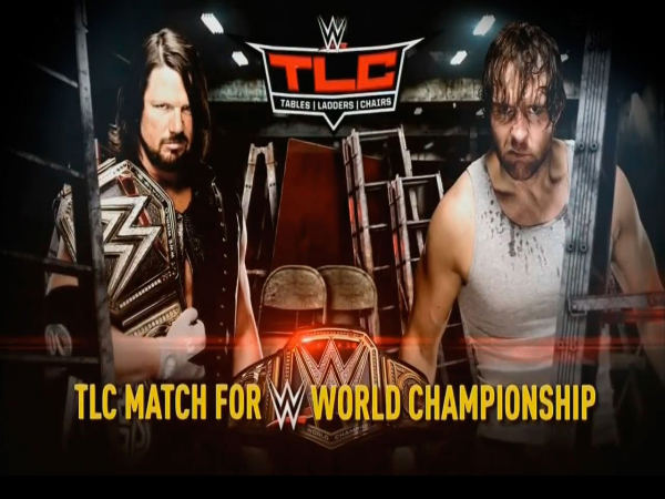 The main event of WWE TLC (Image courtesy: Youtube)