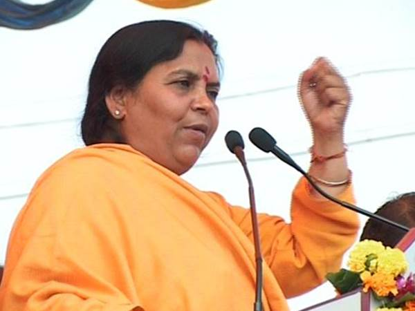 UP CM: Bharti refuses to comment