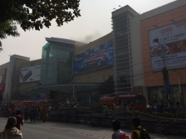 Fire breaks out at South City Mall