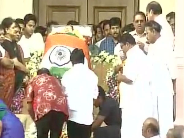 Jaya to be accorded state funeral