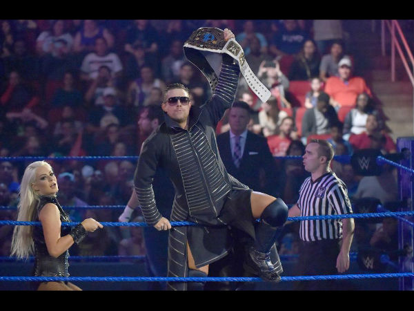 The Miz was the main event on Smackdown (image courtesy WWE.com)