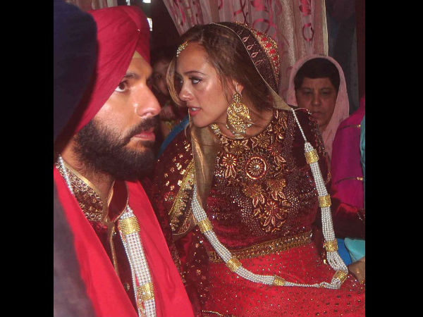 Best images from Yuvraj-Hazel's wedding