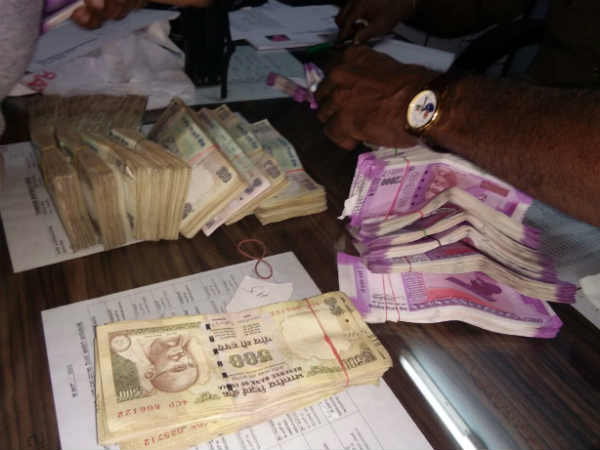 K'taka politician's son caught with cash
