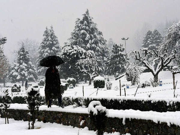 Srinagar records coldest night in five years