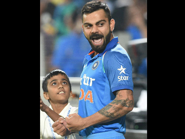 1st ODI series win for skipper Virat Kohli as a full time captain:
