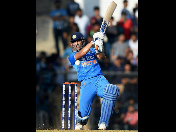 MS Dhoni on record shattering spree