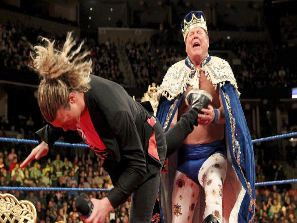 Dolph Ziggler (front) and Jerry Lawler (Image courtesy: wwe.com)