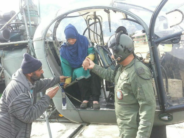 Indian Air Force to the rescue: