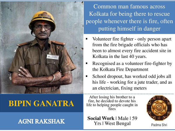 Bipin Ganatra: The fire fighter