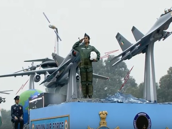 IAF tableau in the parade