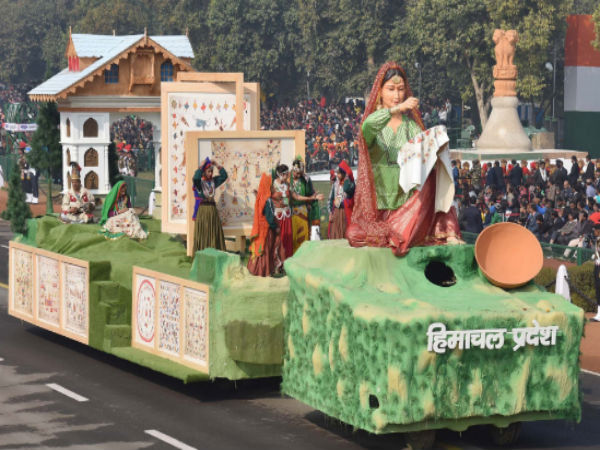 Himachal exhibits ancient art form in R-Day parade: