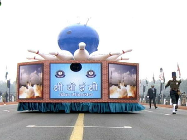 GST tableau features at Republic Day parade