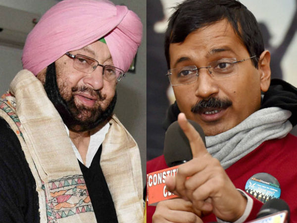 You sneaky little fellow: Amarinder tells Arvind Kejriwal