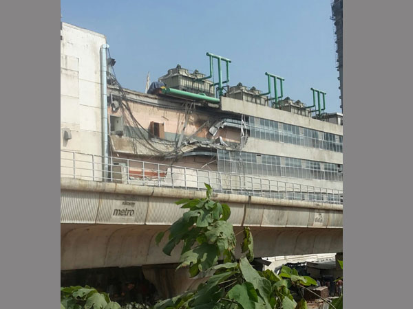 Another wall collapses in Bengaluru mall