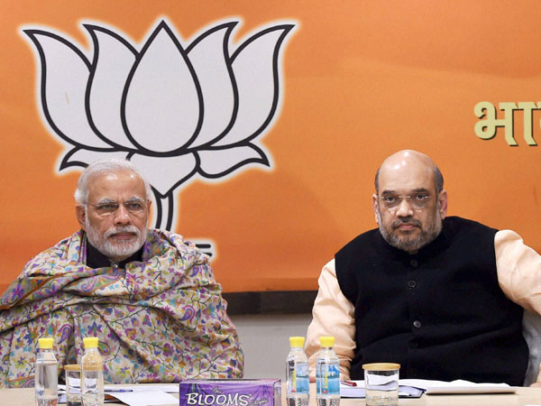 File photo of BJP's Central Election Committee (CEC) meeting for Uttar Pradesh elections