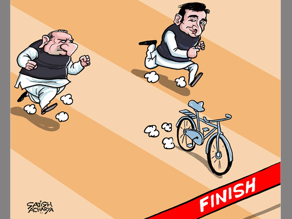 CARTOON: Who will get to ride SP's cycle?